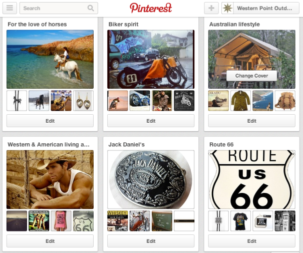 Volg Western Point op Pinterest