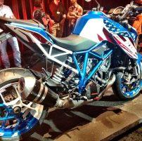 KTM Motor in Stars & Stripes
